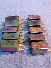 Confezione di 10 VINTAGE Relè reed 5 Volt. i trigger 1100 Ohm @ 2.5v 5ma @ 5v GRATIS P&P