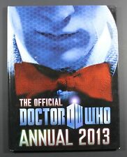 2013 BBC DR. WHO Annual - Hardcover UK exclusive book VG to EXC condition