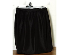 Carnation Home Fashions Lauren Dobby Fabric Sink Skirt 56 x 32 Inches Black