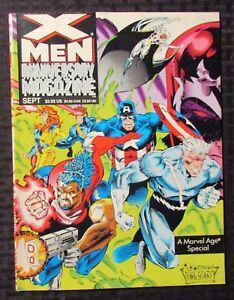 1993 X-MEN Anniversary Magazine #1 VF- 7.5 Marvel Age Special