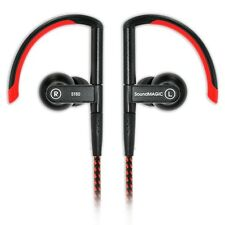 SoundMAGIC ST80 In Ear Isolating Wireless or Wired Sports Earphones - Red