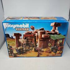 Playmobil Western 5246 Gold Mine Toys R Us 2012 131 Pieces New Old Stock Retired