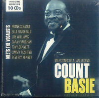 COUNT BASIE - MILESTONES OF A JAZZ LEGEND   10 CD NEU