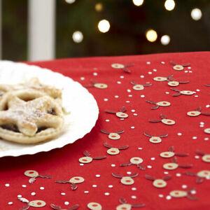 Rocking Rudolf Christmas Table Confetti