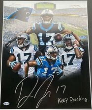 Devin Funchess Signed Autograph 16 By 20 Panthers Coa Cert Rare
