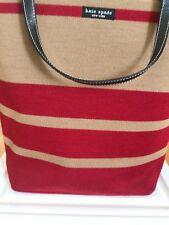 Vintage Kate Spade bucket bag with wool cover