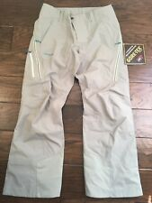 Patagonia Women's Untracked Ski Snowboard Snow Pants Large Light Green Gore-Tex