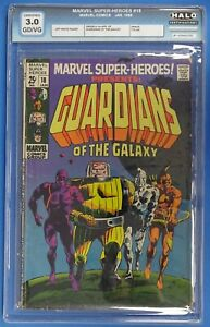 Marvel Super Heroes Presents #18 HALO 3.0 - 1st App of Guardians of the Galaxy