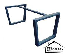 Base/Gambe tavolo ferro industrial design, colore nero opaco, anche su misura!