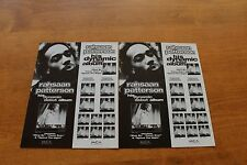 Rahsaan  Patterson - Promo Publicity Ad  - Rap Hip Hop