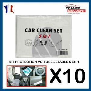 Kit di Protezione Interno Sedile Automobile Tappeto Meccanica Lotto 10 Kit