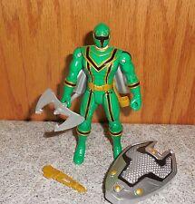 Power Rangers Mystic Force Light Force GREEN RANGER Complete Bandai Figure