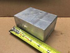 Aluminum Scrap 6061-T651 2 inch x 4 inch x 2 3/4 inch length.