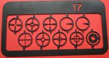 Parker Hale Matchmaker foresight 17mm Target sight element set FUN BSA,etc