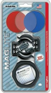 MAGLITE D Cell ACCESSORY KIT, Lenses, Mounting Brackets, Anti Roll ASXX376