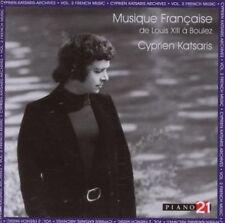 French Music (Musique Francaise), Vol. 2 - Cyprien Katsaris Archives, New Music