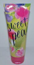 BATH & BODY WORKS SWEET PEA ULTRA SHEA CREAM HAND LOTION 8OZ LARGE PEAR FREESIA