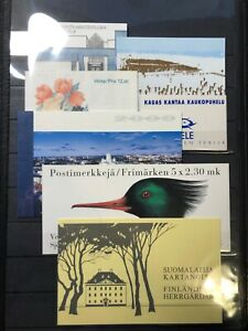 Collection of Finland Stamp Booklets