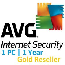 AVG Internet Security 2017 Antivirus | 1 Year | 1 PC | Quick Install | OFFICIAL
