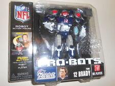 "TOM BRADY ( 6"" ) 2008 NFL PRO-BOTS ( 25 POINTS OF ARTICULATION ) SERIES 2 FIGURE"