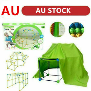 Building Your Own Den Kit Play Construction Fort Tent Making Set Builder Toy UK