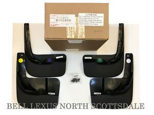 LEXUS OEM FACTORY 4pc MUDGUARDS SET 2010-2015 RX350 PT769-48100