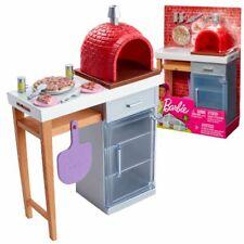 Pizza Backofen Spielset | Barbie | Mattel FXG39 | Möbel Einrichtung Küche