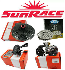 NEW Sunrace MZ80 1X 12 Speed Kit w/KMC Chain 11-50t MT Bike Groupset fit SRAM