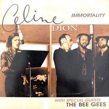 Celine Dion With Special Guests The Bee Gees CD Immortality - Europe (VG/VG)