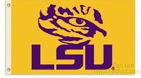 NCAA Licensed LSU Tigers 3' x 5' FLAG w/Grommets Banner New