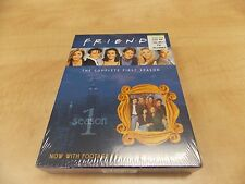 Friends - The Complete First Season (DVD, 2002, 4-Disc Set) 2 DAY SHIPPING NEW S