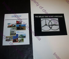 2 1980 1982 WHITE Volvo FREIGHTLINER Autocar Heavy Duty Truck Brochures Catalogs