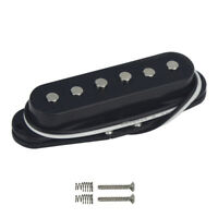 Black FD Strat Electric Guitar Pickup Single Coil Bridge Pickup 6-7K Staggered