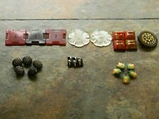 VINTAGE BAKELITE BUTTONS ~ MIXED LOT OF 23