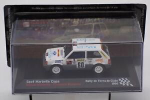 Ixo / Altaya - Seat Marbella Copa - Rally Gijon 1991 #60 - Modell - 1:43 - NEU