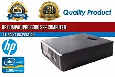HP Compaq Pro 6300 SFF Intel i7 8GB RAM 1 TB HDD Win 10 USB VGA B Grade Desktop