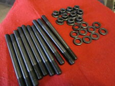 FIAT 124 SPIDER, 131, LANCIA HEAD STUD KIT, NEW, PERFORMANCE KIT