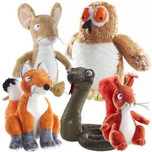 "GRUFFALO - CHOOSE YOUR 7"" PLUSH - SNAKE, MOUSE, FOX, OWL, SQUIRREL"