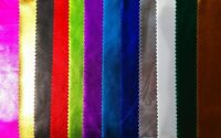 High Shine Metallic Mirror Foil Stretch Lycra Dancewear fabric FREE PP 13 COLOUR