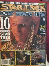 RARE STAR TREK DEEP SPACE NINE MAGAZINE VOLUME 25 SPECIAL FINAL ISSUE 1998
