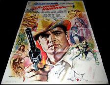 1966 The Chase ORIGINAL SPAIN POSTER Marlon Brando Jane Fonda Robert Redford