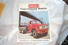 Showroom brochure 1971 GMC 7500 Truck 69 70 71 72 NOS GMC Conventional Models