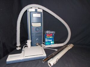 ELECTROLUX DIPLOMAT CANISTER VACUUM W/ 4 NEW BAGS READY TO GO AFTER ASSEMBLY