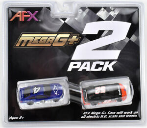 Tomy AFX Mega G+ Stock Car Twin Pack (includes 2 cars) HO Scale Slot Cars #22041