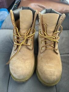 Timberland Ladies Boots Size 4 Sand Colour Desert