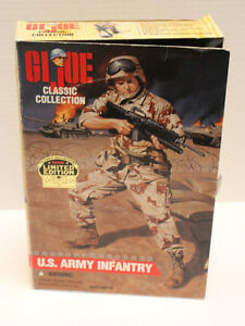 "GI Joe Classic Edition 1996 Limited Edition U.S. Army Infantry 12"" Black Soldier"