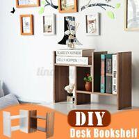 Holz Computer Schreibtisch Bücherregal Bücherschrank Display Storage Rack Buch