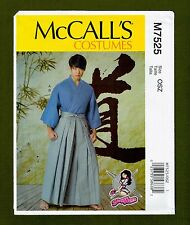 Yaya Han Martial Arts Costume Sewing Pattern~Unisex (Sizes S-XXL) McCalls 7525