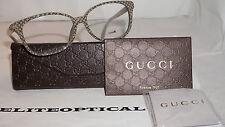 New Authentic GUCCI RX Eyeglasses Beige Glitte GG 3634/F DXQ 140 Italy