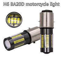 BA20D LED Scheinwerfer DRL 100W 6-Side Weiß 6000K 66LED 12-24V Hallo / Lo Strahl